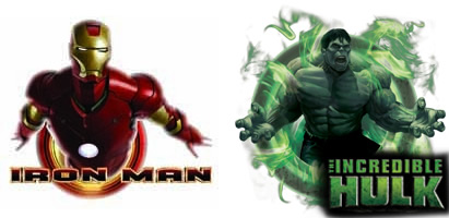 Iron Man y Hulk artwork